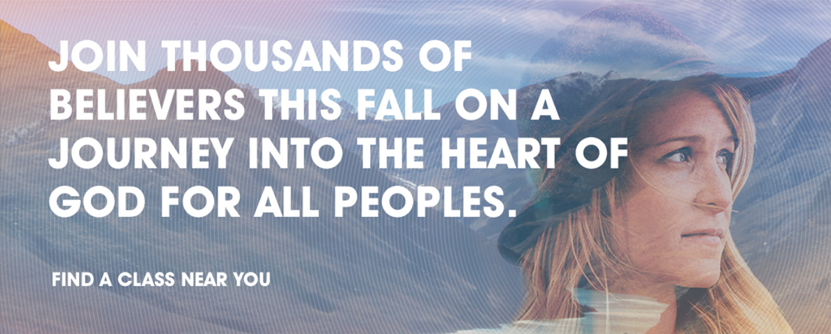 Join Thousands of Believers This Fall on a Journey Into the Heart of God for All Peoples